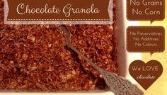 Chocolate Grain Free Granola