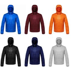 2016 Men Ultralight Down Jacket Men's Warm Jackets With A Hood Outdoors Lightweight Coat Feather chaqueta invierno hombre Stylish Coat, Stylish Men, Bubble Style, Hooded Winter Coat, Duck Down Jacket, Down Coat, Winter Jackets, Warm Jackets, Men's Jackets