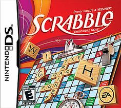 Scrabble (Nintendo DS, for sale online Ds Games, Word Games, Games To Play, Connect 4 Board Game, Four Letter Words, Spelling Words, Game Item, Electronic Art
