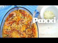 ΚΡΙΘΑΡΟΤΟ ΜΕ ΓΑΡΙΔΕΣ ΓΕΜΑΤΟ ΘΑΛΑΣΣΑ - paxxi Orzo, Greek Recipes, Seafood Recipes, Shrimp, Recipies, Curry, Pizza, Fish, Cheese