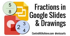 As a previous math teacher I always have a soft spot for the challenges faced when trying to use technology in math . A common pain point . Interactive Sites, Interactive Notebooks, Math Teacher, Teaching Math, Add Fractions, Math Sites, Slideshow Presentation, Google Classroom, Educational Technology