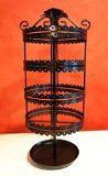 Zoohu Ultimate Black Rotating Revolving Earring Organizer / Jewelry Holder Stand Display Tree - Mothers Day Birthday Christmas Gifts - http://tonysgifts.net/2015/03/16/zoohu-ultimate-black-rotating-revolving-earring-organizer-jewelry-holder-stand-display-tree-mothers-day-birthday-christmas-gifts/