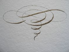 calligraphy I love a beautiful flourish and here is a gorgeous example. This pin… Flourish Calligraphy, Copperplate Calligraphy, How To Write Calligraphy, Calligraphy Handwriting, Calligraphy Letters, Penmanship, Modern Calligraphy, Wedding Calligraphy, Cursive