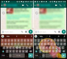 Aprenda como aplicar temas ao GBoard para personalizar o teclado do Android