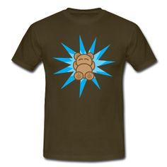 Star Bear. T-shirt for bears, chubies & gay men