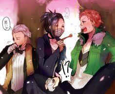 Gin, Hirotsu Ryurou, Tachihara Michizou