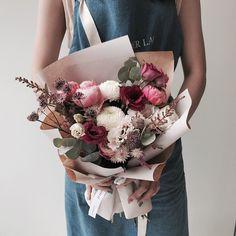_ - - 꽃다발 만들고싶, - - #flower #florist #handtied #boupuet