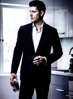 "Hot men in suits definitely fits under the category of ""Things to Love and Adore"", no? :P"