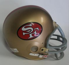 San Francisco 49er Helmet Collectible Sports by shoponwebstreet