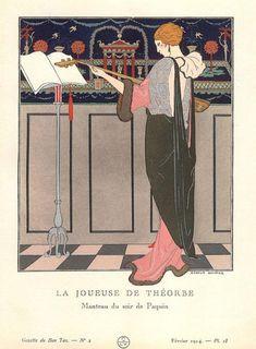 Жорж Барбье - один из первооткрывателей стиля арт - деко - Ярмарка Мастеров - ручная работа, handmade