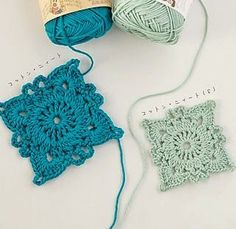 Finse Granny Square - Finnish Granny Square | Bees and Appletrees (BLOG) | Bloglovin'