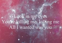 The Kill. 30 seconds to mars. I seriously love this band so much!