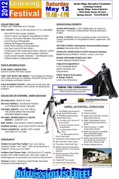 Apollo-Ridge Learning Festival – Sat. May 12th! #StarWars, #Guitars, & #Antiques …all in one place!