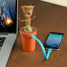 Marvel Guardians of the Galaxy I Am Groot Baby Groot Clous d/'oreilles Nouveau