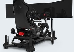 RSEAT N1 M4A 3000 Black Motion Simulator – RSEAT Gaming seats, Cockpits and simulators for PC, PS3, XBOX