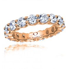 1.25ct-14KT Rose Gold Diamond Ring.