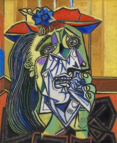 Mulher Chorando - Picasso e suas pinturas ~ O maior expoente da Arte Moderna