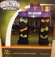 Eye Scream Blinking Eyes Archway Airblown Inflatable Gemmy Halloween Yard Prop