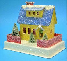 Christmas Putz Cottage