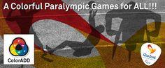 Colorful Paralympic games for ALL!!! For a more inclusive world!  #ColorADD #colorblind #colors #colorforall#daltonismo #cores #acoréparatodos #accessibility#acessibilidade #innovation #inovação #awareness#jogosparalimpicos #RIO2016#jogosparalímpicos2016