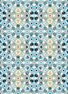 arabic pattern restyling by Marta Hernando