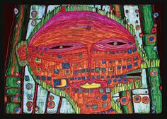 Image result for hundertwasser paintings