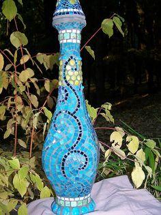 blue mosaics...cool & beautiful
