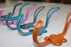 Colourful Metal Hooks