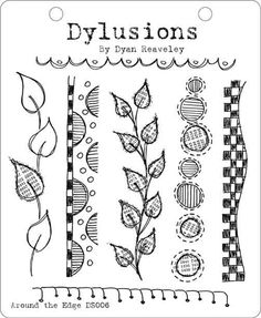 dylusions stamps | DYLUSIONS STAMP