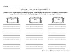 double consonant detective double consonants worksheet 1 spelling digraphs worksheets. Black Bedroom Furniture Sets. Home Design Ideas