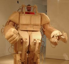 Wood robot anyone?