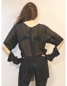 Blouse cu out #fashion #model #blouse #hot #top #clothing  @ http://www.zannza.com/
