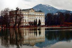 Schloss Leopoldskron ~ Salzburg, Austria (photo by Gabriele Boccone, Salzburg, Austria)....