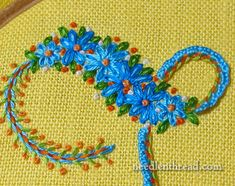 Color choices for Embroidery - and how the colors affect your eyes!