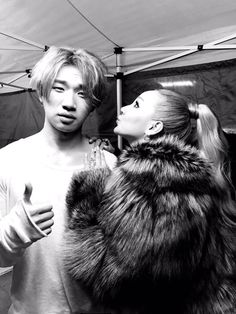 Daesung and CL
