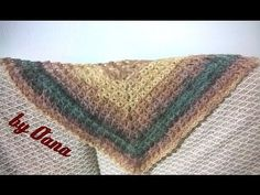 hi crocheters of the world, my name is oana and I love to crochet and knit I also have my own designs and projects and this is the place where I share my cre. Crochet Scarves, Crochet Shawl, Crochet Stitches, Knitting Videos, Crochet Videos, Crochet Minecraft, Broomstick Lace Crochet, Herringbone Stitch, Shawl Patterns