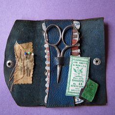 Mini sewing and mending kit by Oliveark, via Flickr