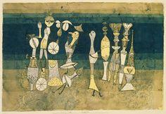 Paul Klee (Allemand 1879-1940) curieux insatiable