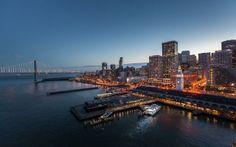 Terrific shot of the San Francisco Ferry Building