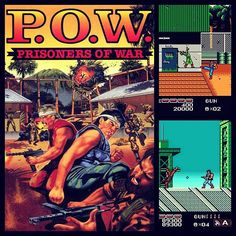 Prisoners of War Control a military prisoner who breaks free from his cell and must fight through waves of incoming enemy combatants. Vote for this or other games! Snk Games, History Of Video Games, Turbografx 16, Super Mario Land, Beat Em Up, Sega Mega Drive, Game Title, Hits Movie, Prisoners Of War