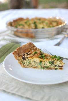 Tofu is the magic ingredient in this quiche dish, which is like a plant-based meal in one. Packed with protein, whole grains, and veggies, it's a nutrition power house to fuel your day. Rich in savory mushrooms and spinach, this pie can be served at breakfast, brunch, lunch or dinner—and it's delicious the next day, …