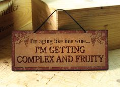 Funny Kitchen Signs | with Funny Wine Saying in Burnt Orange. Wine Sign. Tuscan. Kitchen ...