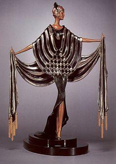 ERTE'....( Roman de Tirtoff ).  Art Deco....11/23/1892--4/21/1990