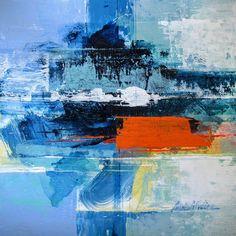 Mountain to sea painting ideas картины, живопись, хэллоуин. Blue Abstract Painting, Abstract Wall Art, Abstract Paintings, Art Prints For Home, Modern Artists, Art Design, Painting Inspiration, Illustration Art, Illustrations