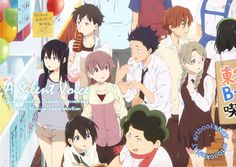 artbooksNAT — Koe no Katachi (聲の形) All the lead characters of A...