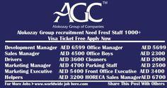 Alokozay Group Recruitment