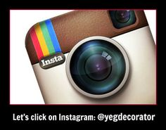 Who's on Instagram? I'm just getting started. I'd love to follow you. Please leave your handle below. http://instagram.com/yegdecorator#