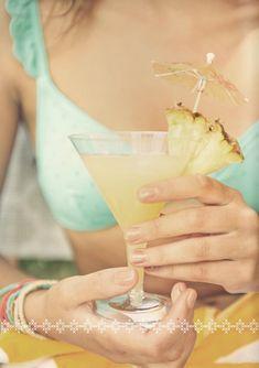 Bottom's Up :: Prettiest Summer Cocktails