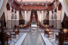 Los mejores establecimientos de 2015, según los Villégiature Awards.  Royal Mansour de Marrakech, Mejor Hotel en África.