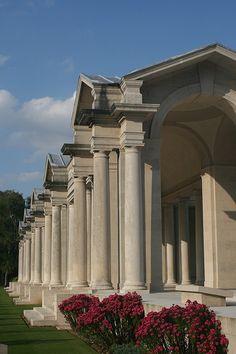 Faubourg D'Amiens Cemetery & Flying Services Memorial  Arras  Pas de Calais  France  Sir Edwin L. Lutyens (1869- 1944), Principal Architect  CWGC WW1 Cemetery